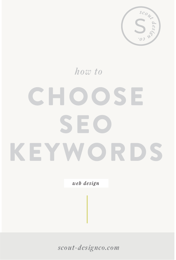 When choosing SEO keywords, it's important that you think like your ideal audience. Put yourself in their shoes. What exactly are they searching for?