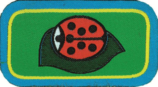 Distintivo di Progressione Personale per il Cerchio : Coccinella del prato