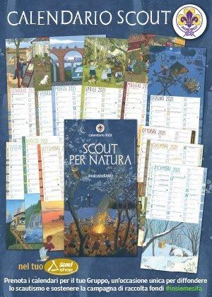 Calendario Scout Agesci 2021 – Scout.coop