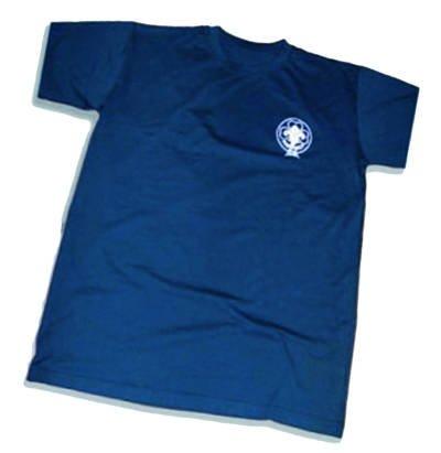 t shirt blu