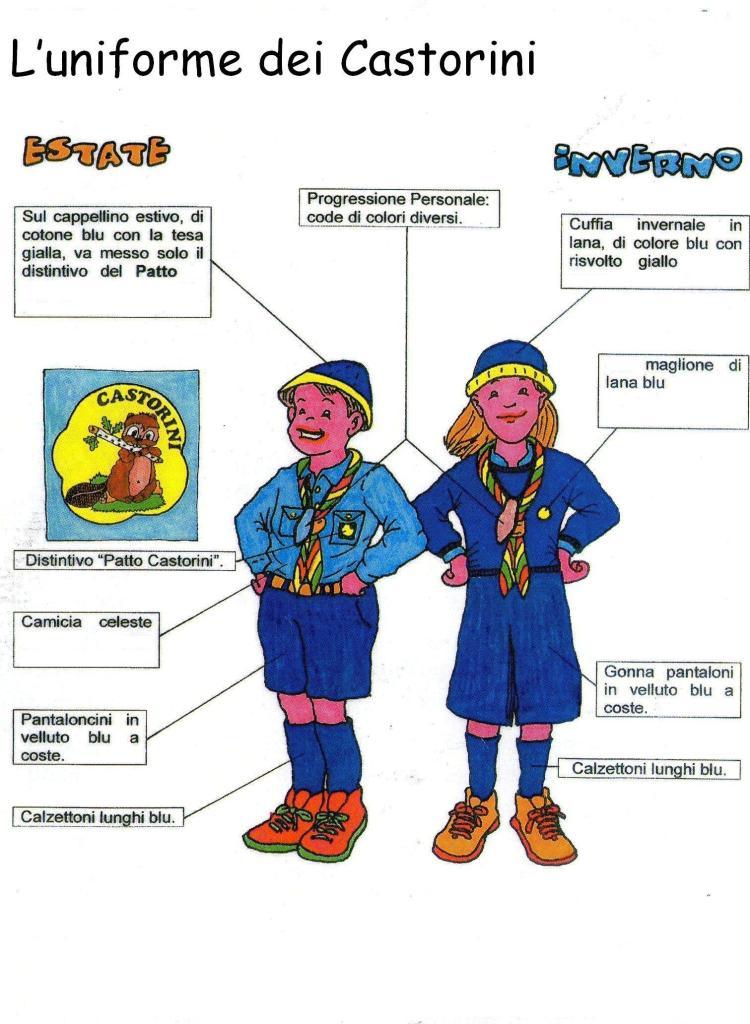 uniforme castorini