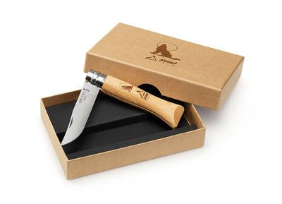 coltello opinel inox 6 lupetto