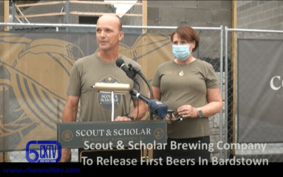 CH6 Television: Scout & Scholar Brewery in Bardstown Kentucky