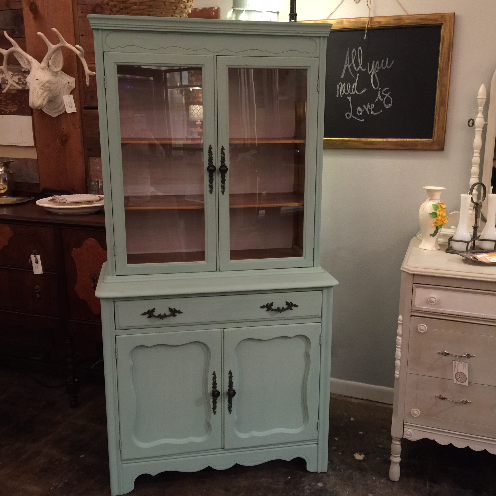 simpleVintage with Scout  Tag  handpainted furnishings