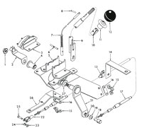Scout Connection Clutch, Transmission & Propeller Shafts Page