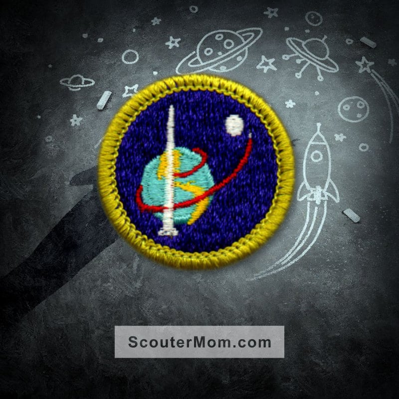 Space Exploration Merit Badge For Boy Scouts Checkoff Sheet  Scouter Mom