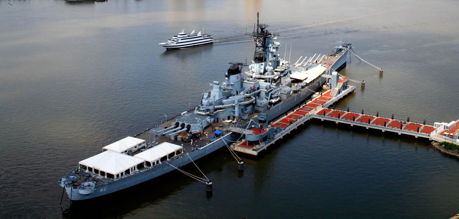 Overnight: USS Battleship New Jersey   Scouting 334
