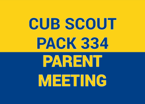 Cub Scout Parent Meeting, Summer 2019 @ Leverington Church | Philadelphia | Pennsylvania | United States