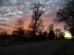 (1/13/14) Beautiful sunset this evening!