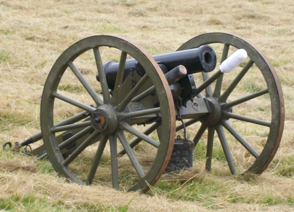 Cannons Used in Civil War