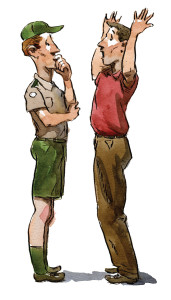 How to deal with an unruly parent - Scouting magazine