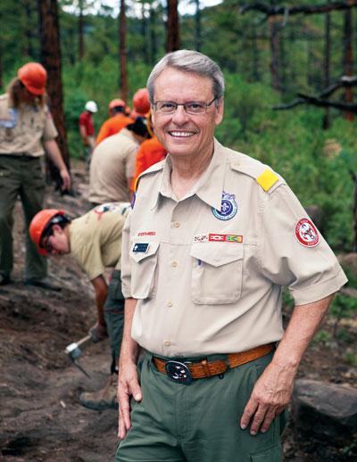 Wayne Brock Chief Scout Executive Scouting Magazine