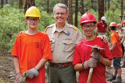 Chief Scout Executive Wayne Brock Chief's Message