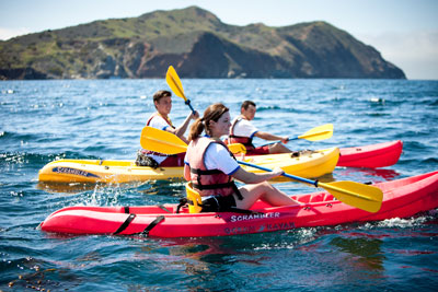 Kayaking Emerald Bay Catalina Island Group