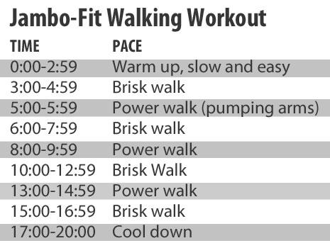Jamboree Fitness Walking Workout