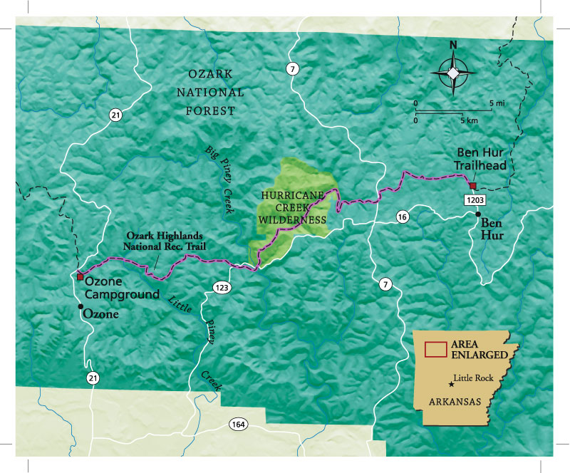 Arkansas Ozark Highlands Trail
