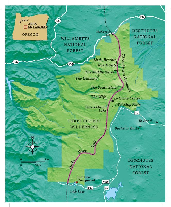 Oregon Three Sisters Wilderness