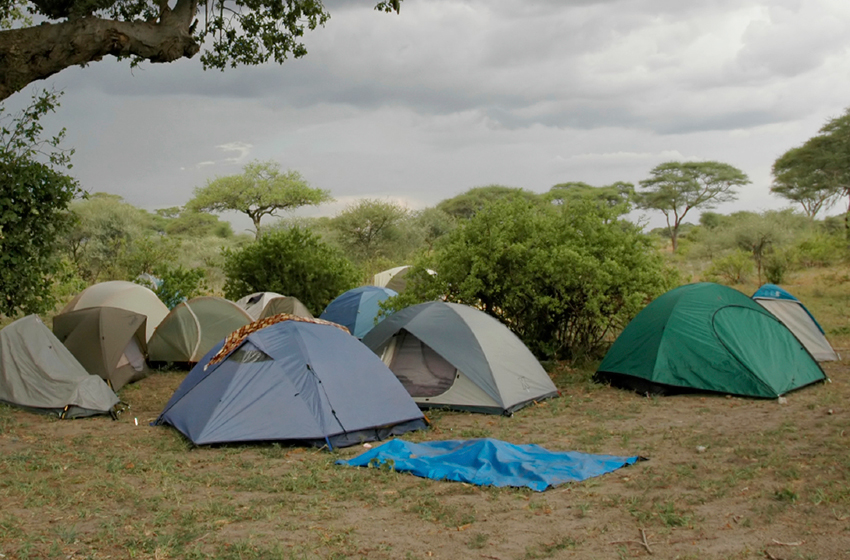 StormyC&out & Make your campsite disaster-proof during bad weather
