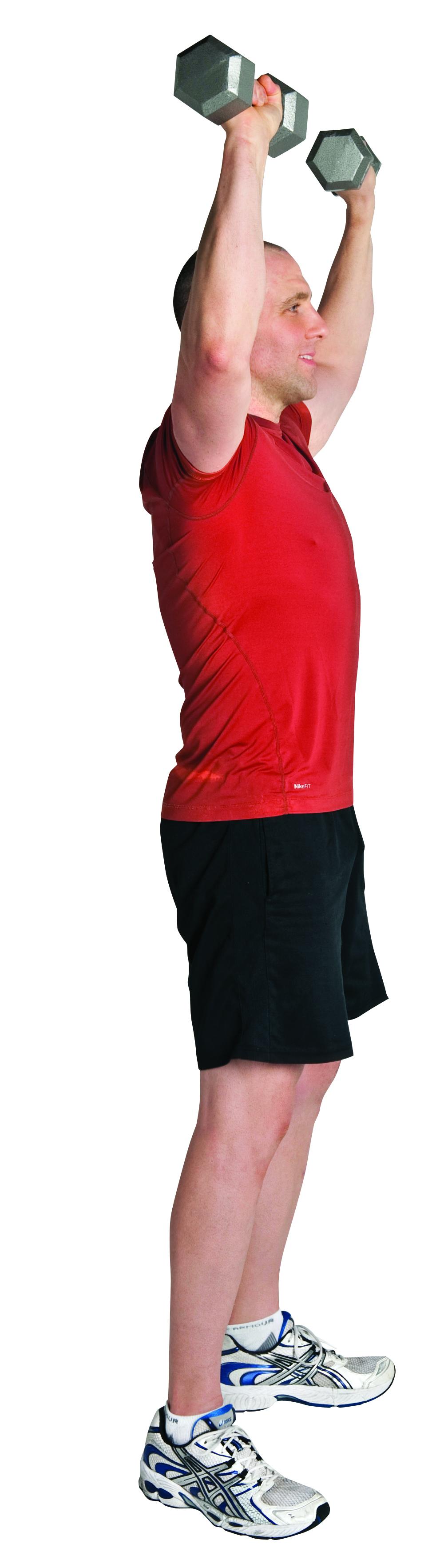 BSA Fitness Squat and Press