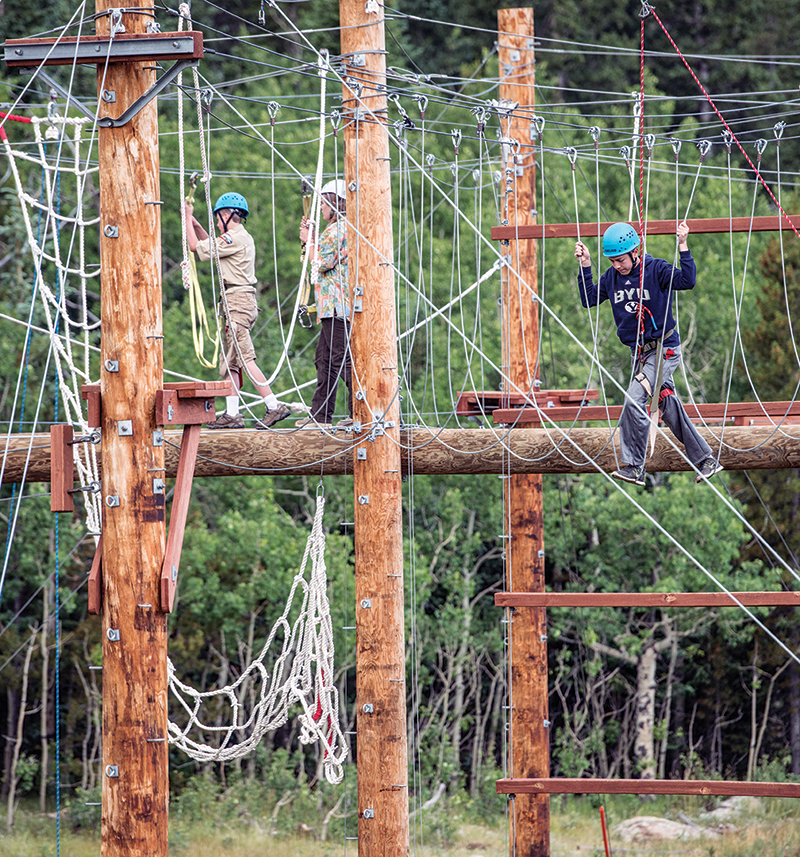 Tahosa High Adventure Base