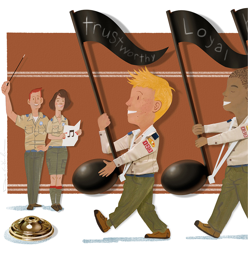 Tips for teaching Cub Scouts the Scout Law