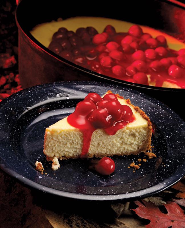 Dutch Oven Cheesecake Scouting Magazine