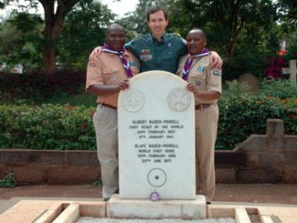 Alvin Townley Visits Robert Baden-Powell