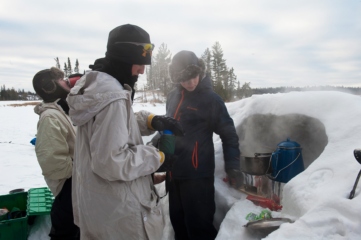 WinterCampCooking