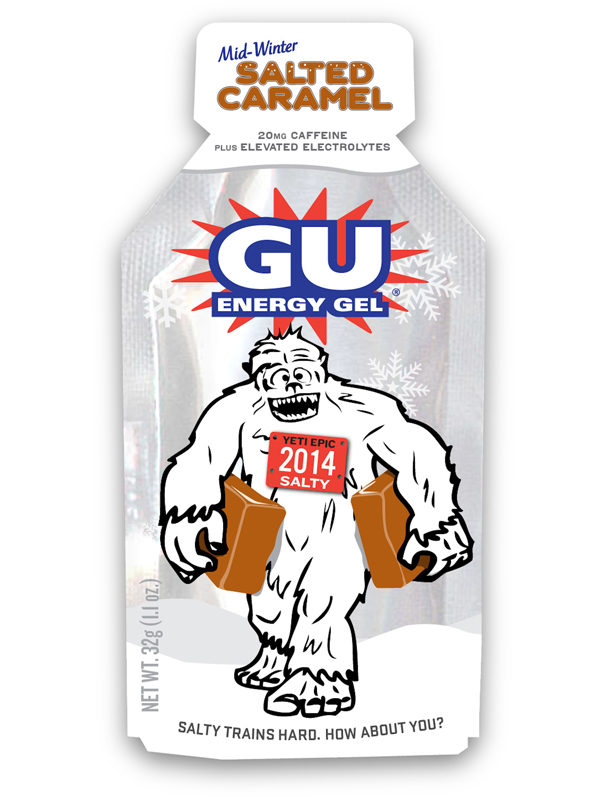 Gu Salted Caramel Gels