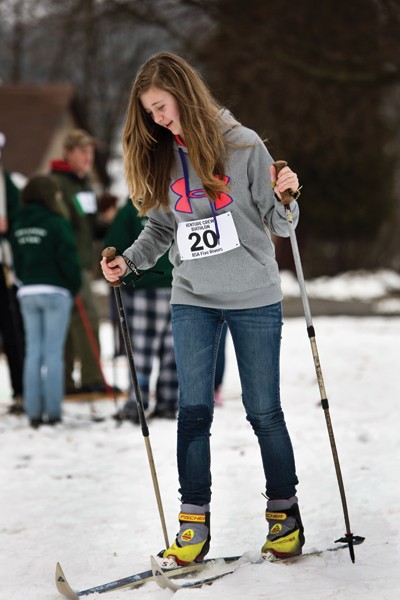Learning Nordic Skiing
