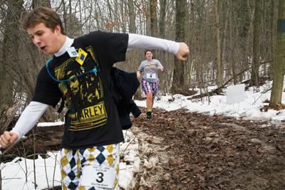 Winter Biathlon Race