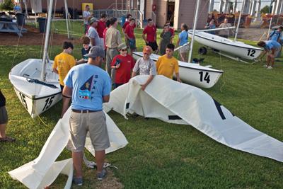 Sea Scout Base-Galveston Rigging Sails