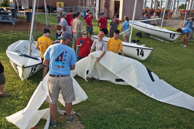 Sea Scout Base-Galveston Rigging Sails