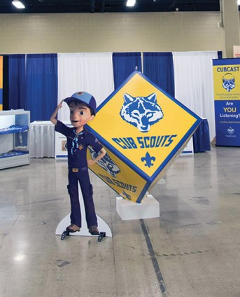 Meet Ethan, the new cartoon character who will guide Cub Scouts through the new program.