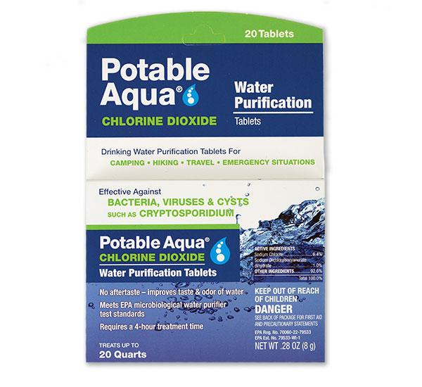 Potable Aqua Water Purification