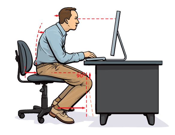 chair posture back pain eco dining chairs exercises to help avoid debilitating and neck