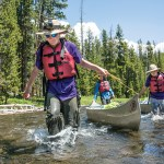 How the Teaching EDGE adds depth to a Yellowstone paddling trip