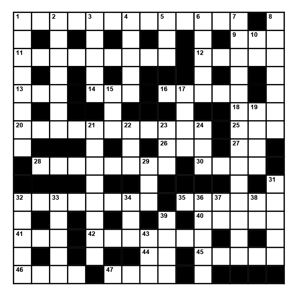 Challenge yourself with a Scouting Awards Crossword