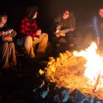 Building a campfire requires know-how and good judgment