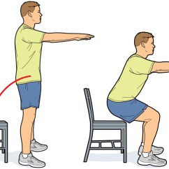 Chair Sit To Stand Exercise Aeron Chairs Exercises You Should Do Every Day Scouting Magazine