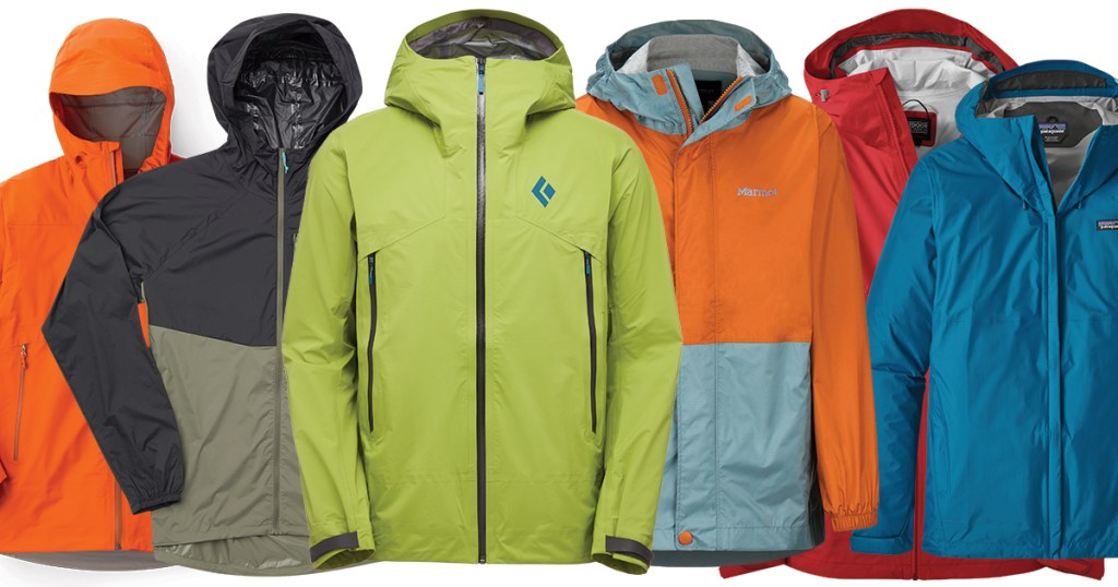 Repel the elements with these rain jackets