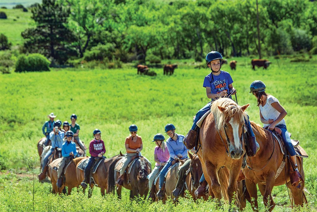 Philmont's Family Adventure Camp lets everybody in on the fun