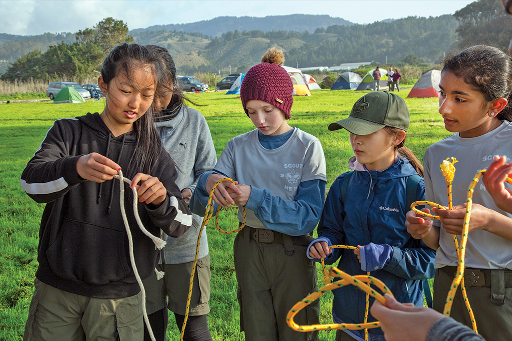 Try these tips for teaching Scouts the importance of knowing their knots