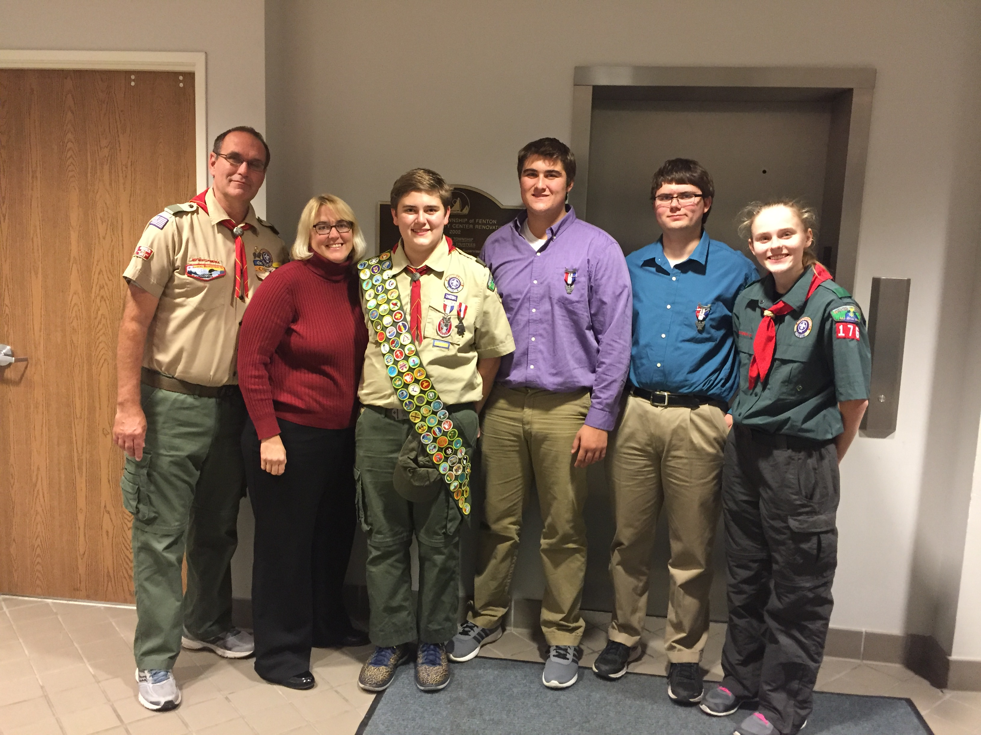 Three Eagle Scout Brothers Earn All Merit Badges Boy