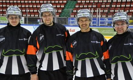 Finnish Referees Celebrate Movember