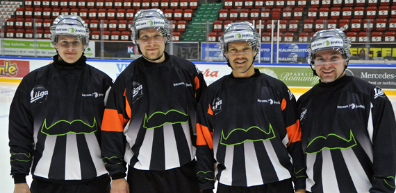 Finnish Referees Celebrate Movember