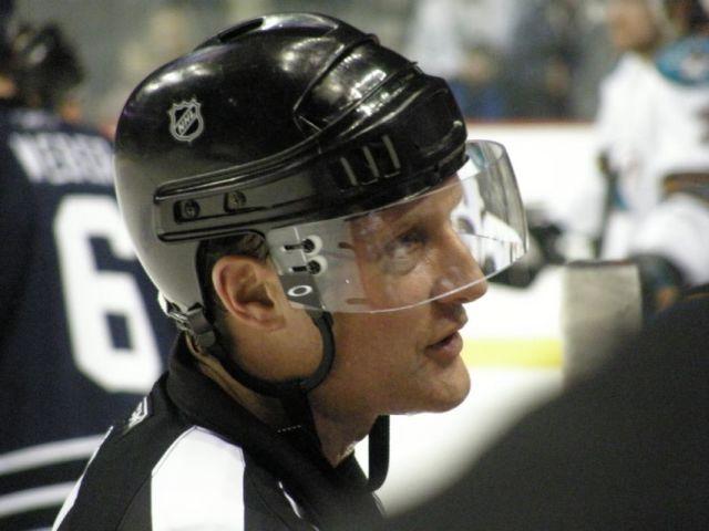 Brad Watson Referees 1000th NHL Game
