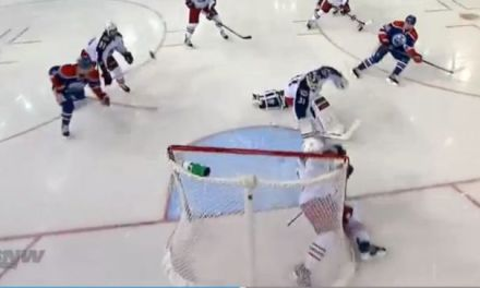 Situation Room: Yakupov Scores into Dislodged Net