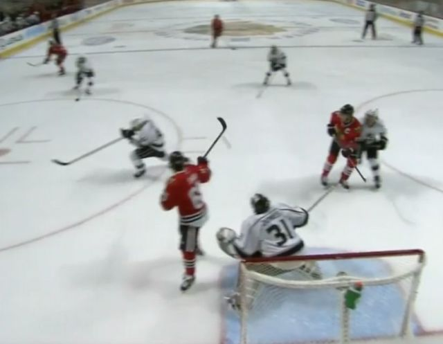 Situation Room: Hawks High-Stick Goal