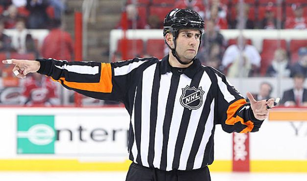 Tonight's NHL Referees – 3/24/14